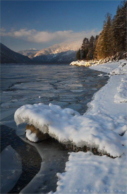 Горный Алтай, Телецкое озеро Первый светphoto preview