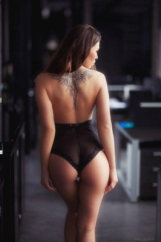 karen abramyan,fashion,girls,portrait,hair,tatoo,nice. sexy,female Secretaryphoto preview