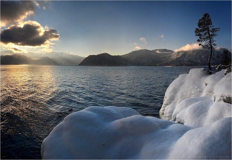 Алтын-Кёль, Горный алтай, Телецкое озеро, Утро Утро на Алтын-кёльphoto preview