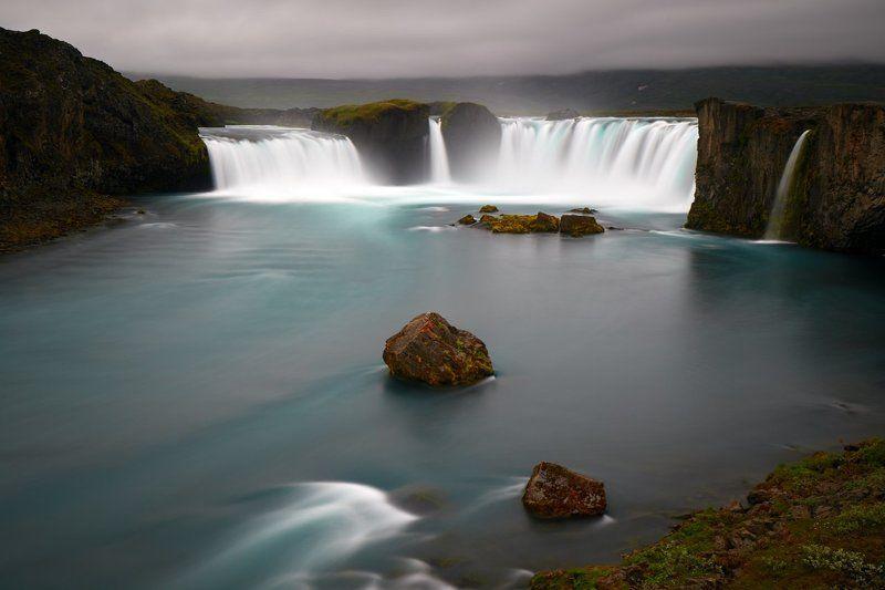Goðafoss, Iceland, waterfall Goðafossphoto preview