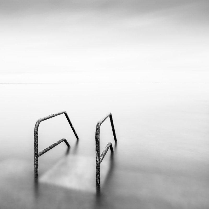 Black & white, Long exposure, Minimal Go Deepphoto preview