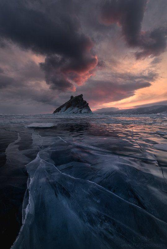 baikal, island, siberia, байкал, остров, сибирь, лед, ice Еленкаphoto preview