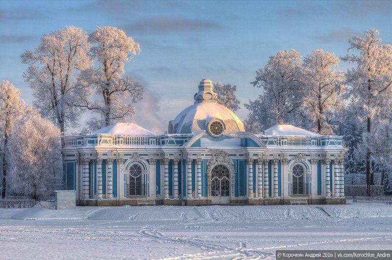 Зима в Царском селе...photo preview
