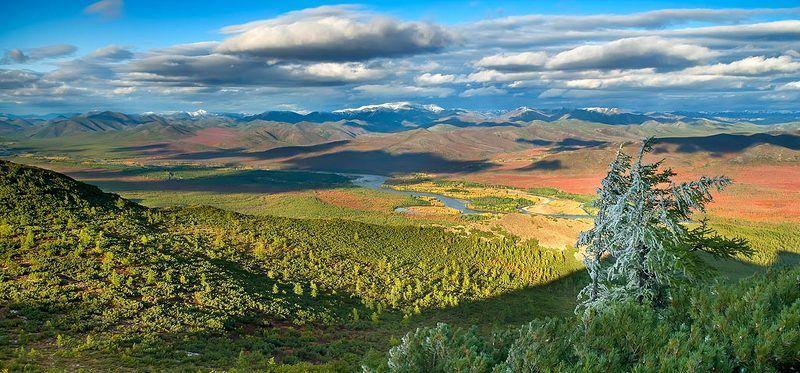 буюнда, сплав, река, осень, паводок, сопки, оледенение, снег Межпогодьеphoto preview