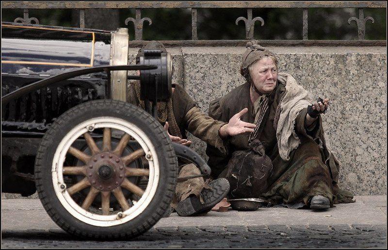 питер, мережко, фильм, колесо, нищие, милостня Колесо судьбыphoto preview