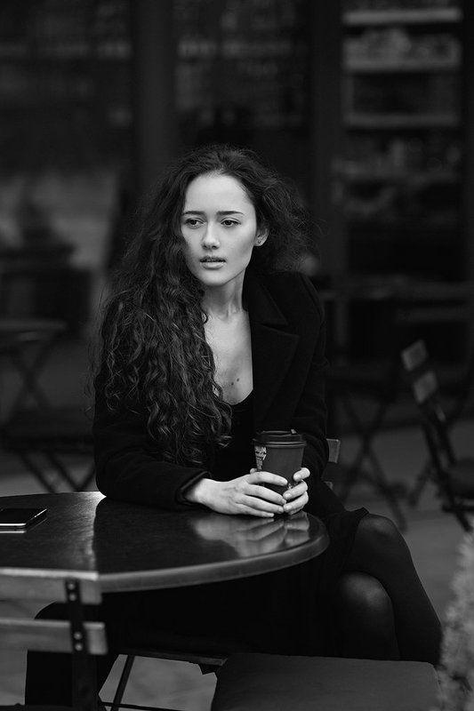 blackandwhite, bwphotography, canon, photo, portrait, woman, девушка, портрет, фото, чб, черно-белое Маринаphoto preview