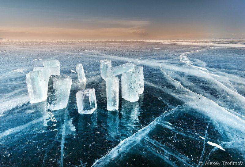 Байкал, Байкальский лед Baikalian Icehengephoto preview