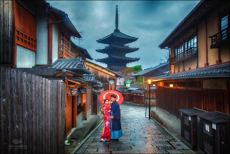 Япония, Киото, Гион, гейша, жанр, город \