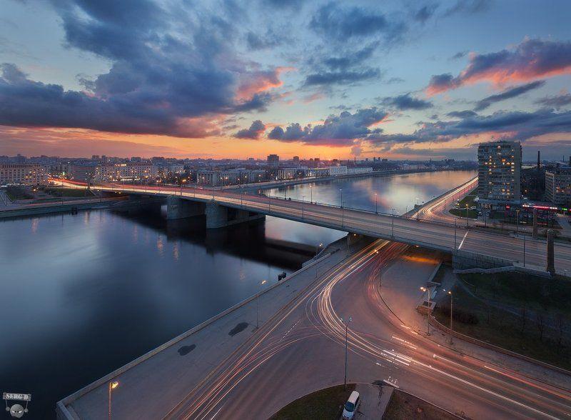 Володарский мост, Октябрьская набережнаяphoto preview