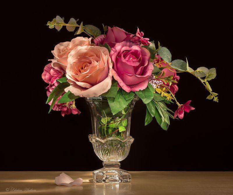 Букет, Натюрморт, Розы, Цветы Цветочнаяphoto preview