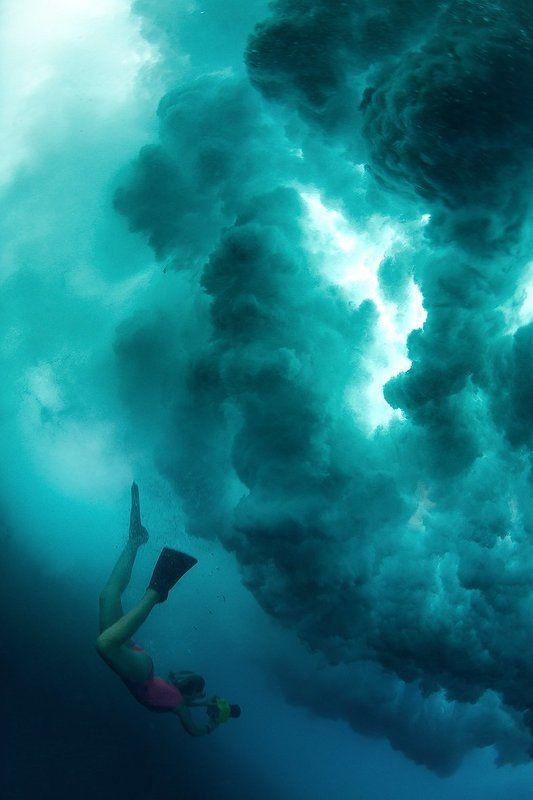 Подводный штормphoto preview