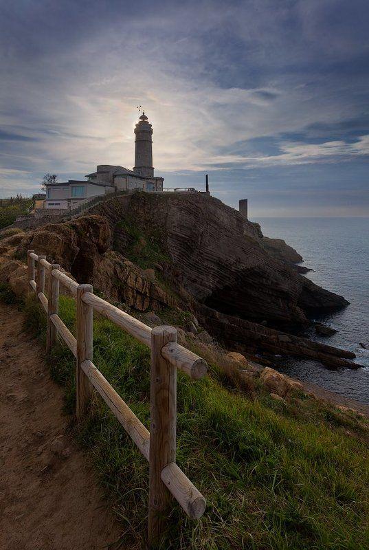 Cantabria, Lighthouse, Santander, Spain, Испания, Кантабрия, Маяк, Сантандер Испания: Кантабрияphoto preview