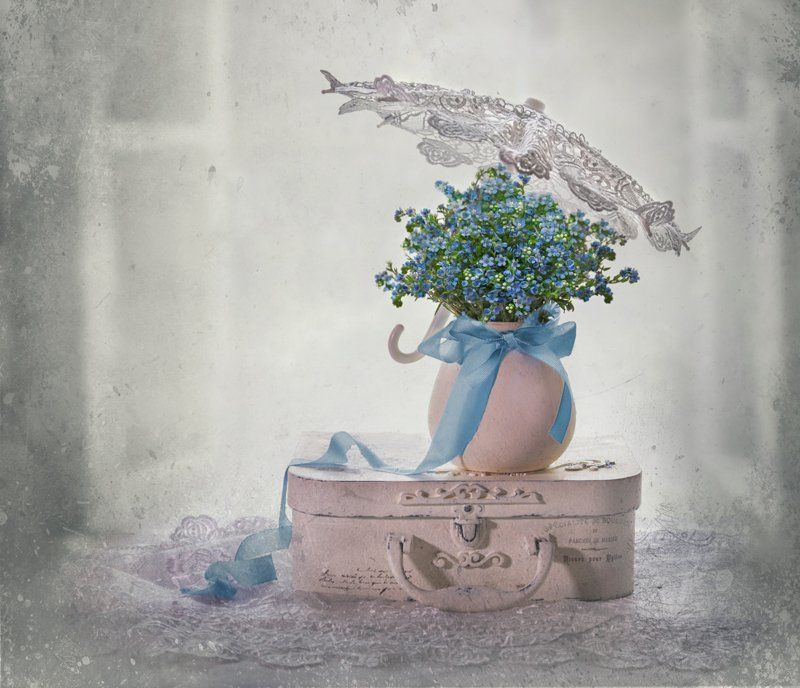 весна, настроение, натюрморт, незабудки, цветы Незабудки...photo preview