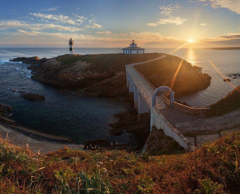 Espana, Faro, Galicia, Lighthouse, Spain, Галисия, Испания, Маяк Испания: Галисияphoto preview