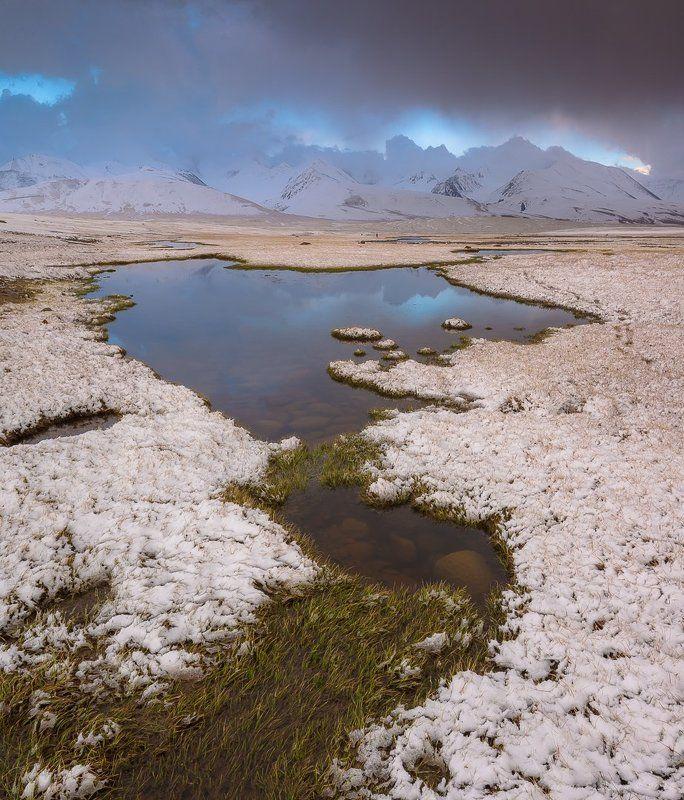 киргизия Высокогорные озера Киргизии...photo preview