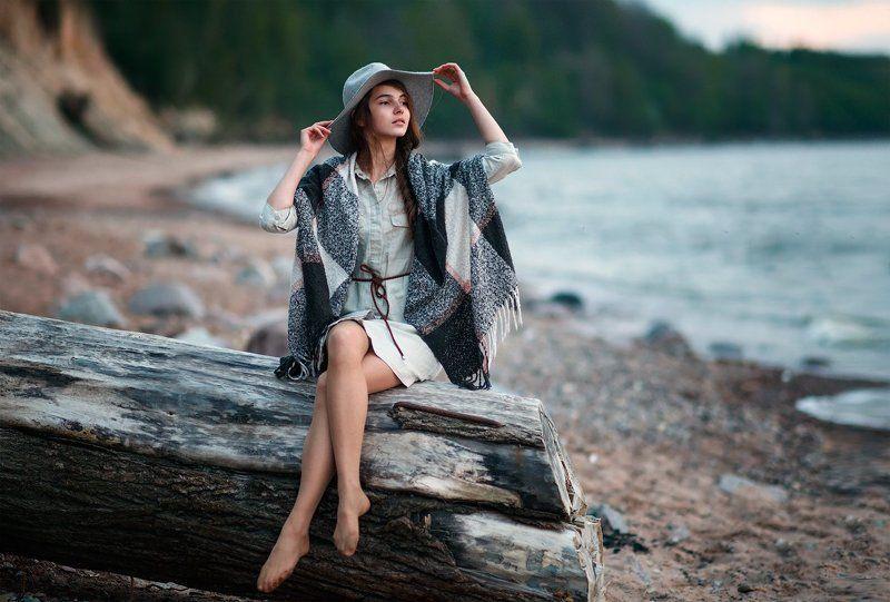 Ключенков, Море, Портрет Настяphoto preview