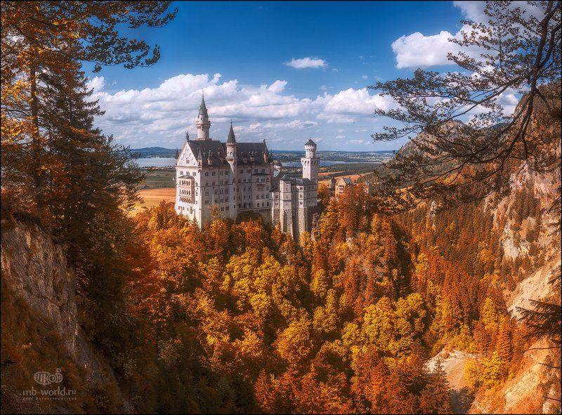 Германия, Бавария, Замок Нойшванштайн, Клуб фотопутешествий MB-WORLD.ru Замок Нойшванштайн...photo preview