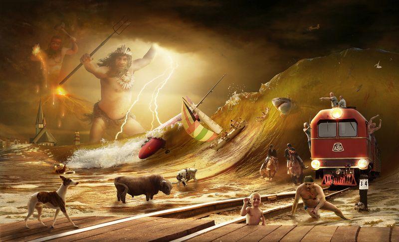 Neptun, Vulcan  Punishment of the Gods (Božja kara)photo preview
