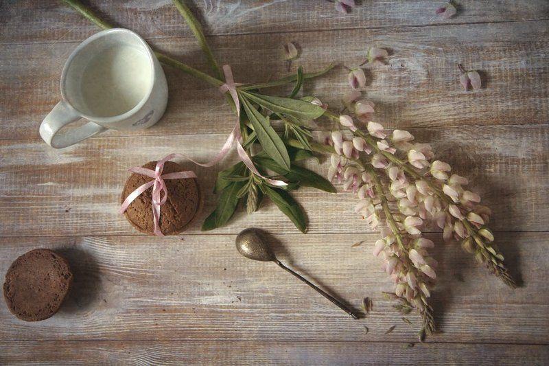 овсяное печенье с молокомphoto preview