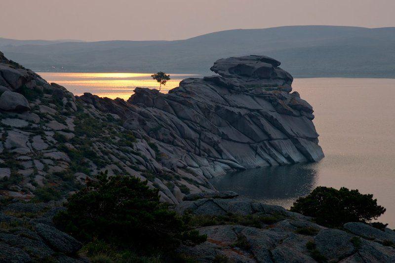 пейзаж Мыс одинокой сосны.photo preview