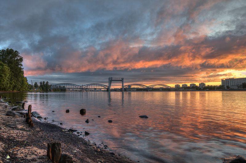 Финляндский Железнодрожный мостphoto preview