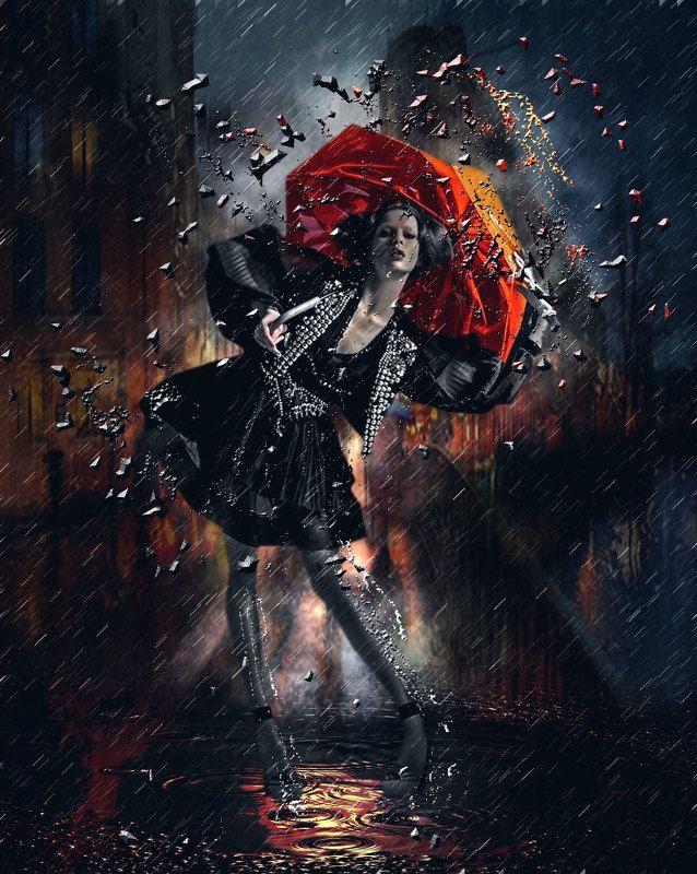 rain, sety, umbrella Sityphoto preview
