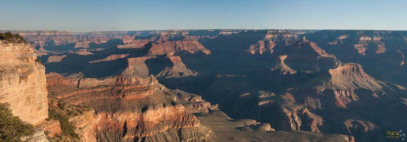 фототур, сша, америка, большой каньон, рассвет, панорама Рассвет в Большомphoto preview