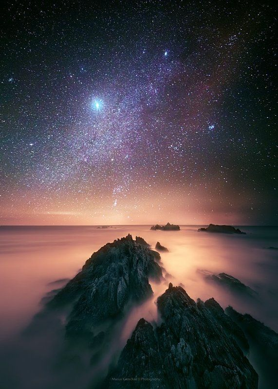 Astro, Astrophotography, Co. Donegal, Ireland, Night, Night sky, Rocks, Stars Co.Donegalphoto preview
