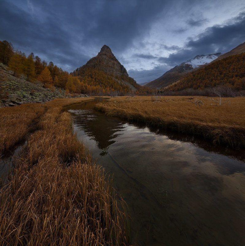 Альпы: дорога в осеньphoto preview