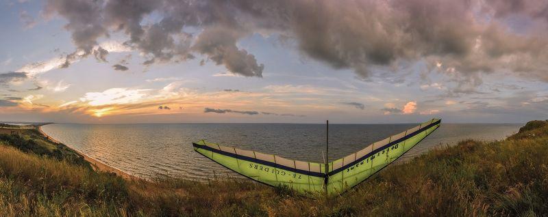 дельтаплан, голубицкая, азовское, море В ожидании ветра...photo preview