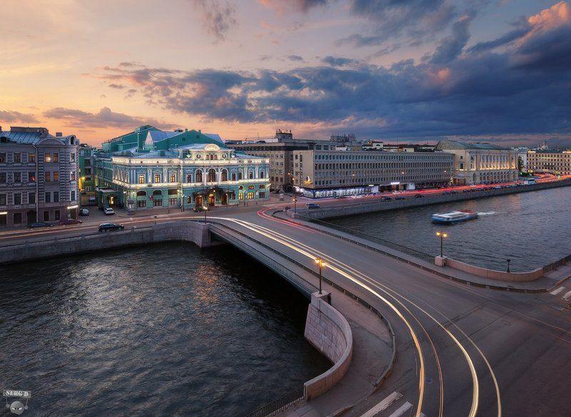 БДТ, Фонтанка, Лештуков мостphoto preview