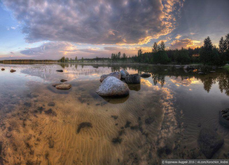 ...утро на озере...photo preview