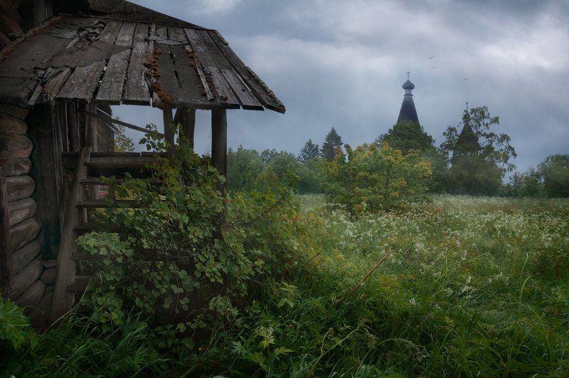 церковь, ленто, непогода, утро, крыльцо Покинутые и забытыеphoto preview