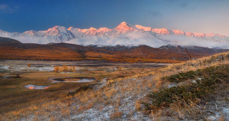Рассвет над Звенящей вершиной.photo preview