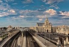 Брестский железнодорожный вокзал.