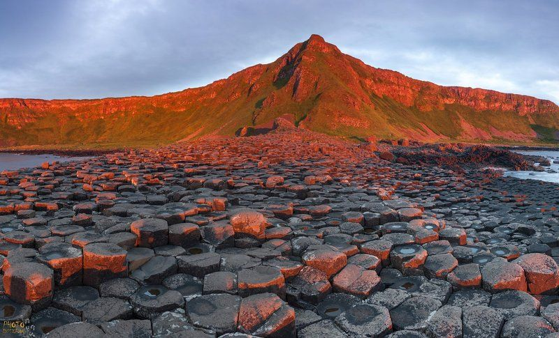 фототур, северная ирландия, тропа великана, закат Закат на Тропе Великанаphoto preview