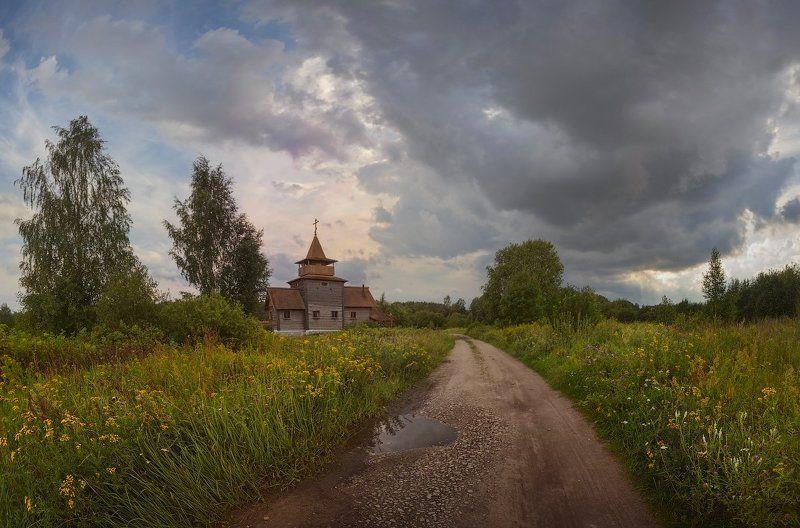 Landscape, Лето, Павлово, Пейзаж, Питер, Храм, Церковь В Арбузовоphoto preview