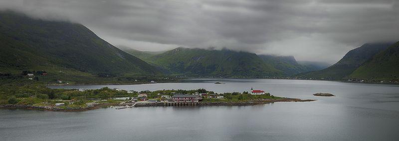 Norway church, Panorama churchphoto preview