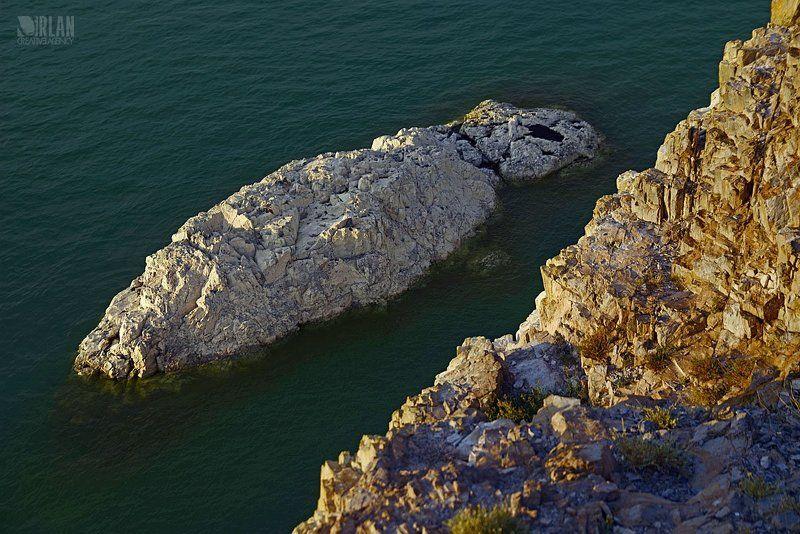 Mongolia, Khyargas lake, Khetsuu khad /Hard rock/photo preview