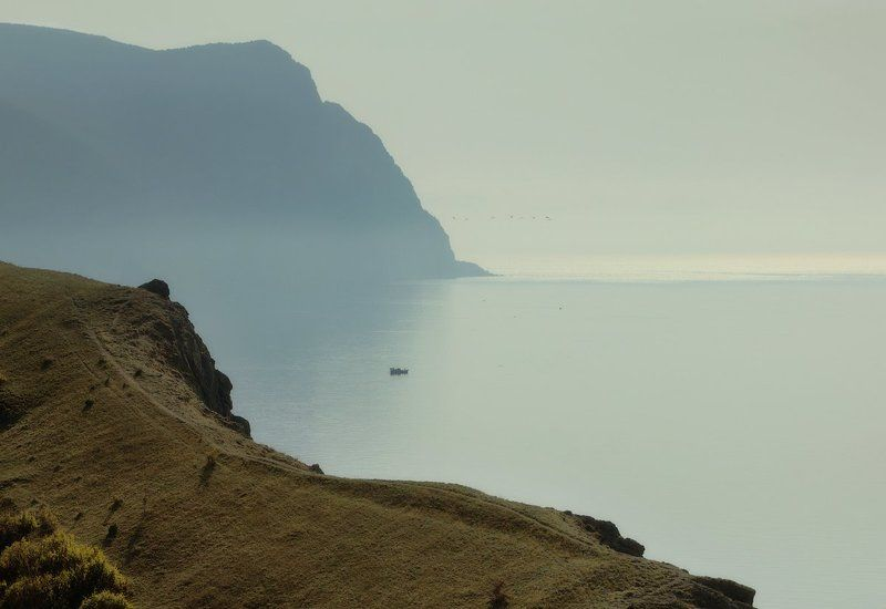 landscape, балаклава, крым, море, осень, севастополь, черное море Призрачно всё. . . . .photo preview