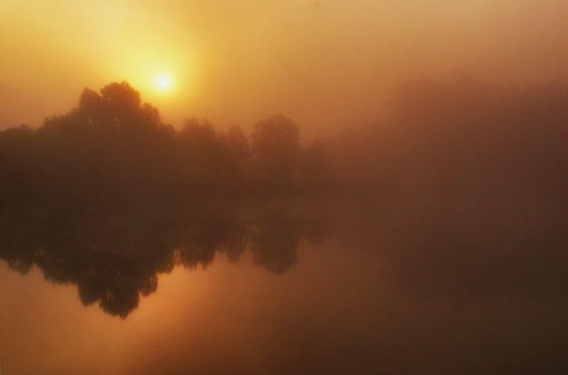 Туманный рассветphoto preview