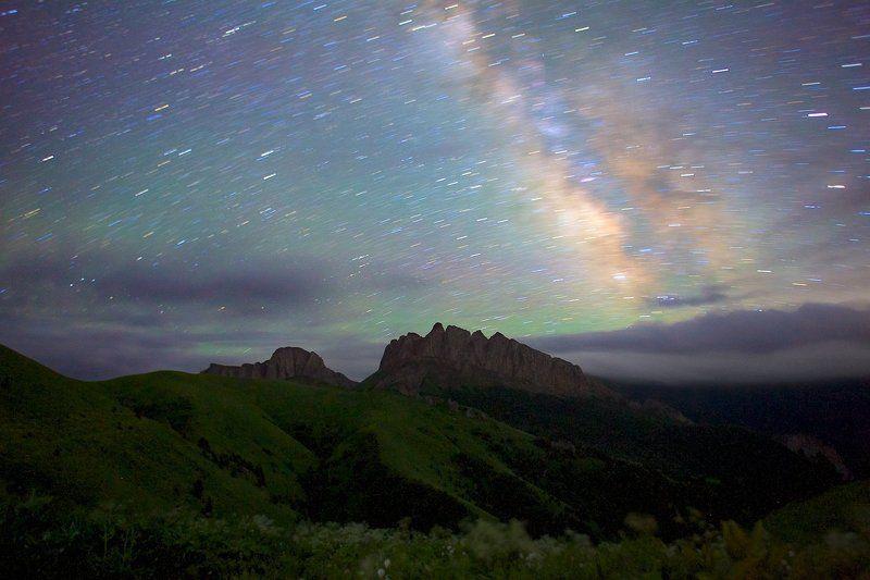 природный парк большой тхач западный кавказ ночь ачешбоки  Сон исполиновphoto preview