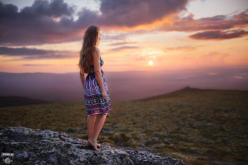 Лена, закат, Маньпупунёрphoto preview