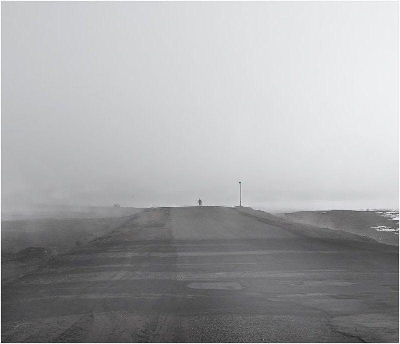 дорога,туман,философия Возвращение....photo preview