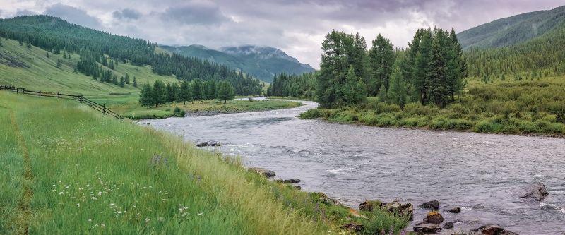 Алтай Башкаус река Верховья Башкаусаphoto preview