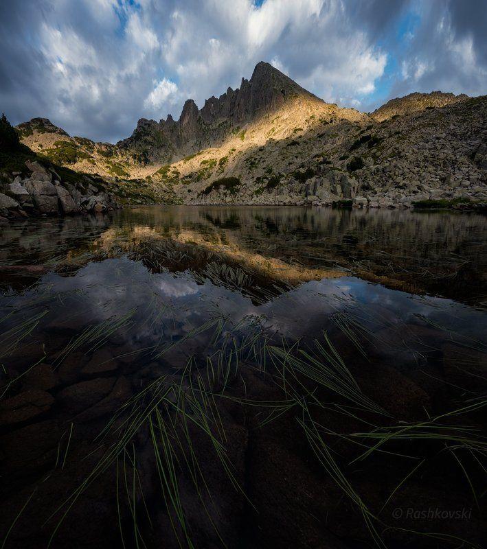 планина, езеро, lake, mountain Mount Dzhangal (2730m)photo preview