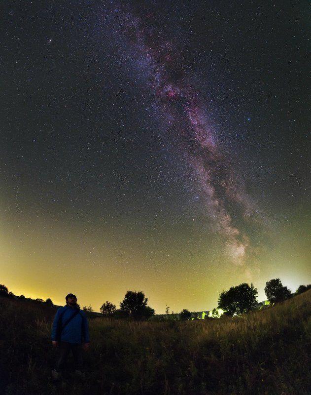 млечный путь, подмосковье, Верея, Спасс Косицы Размышления о вечном...photo preview