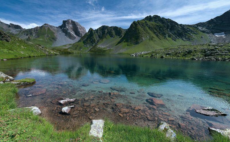 август, 2016, озеро, загедан, скала, кчр АВГУСТОВСКИМ ДНЕМphoto preview
