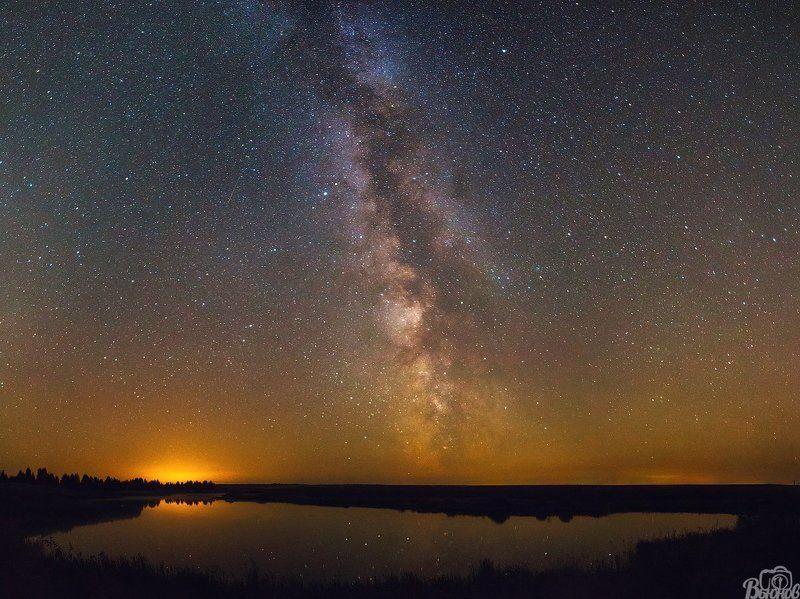 Звезды, Млечный путь, Моршанск, Моршанский район, Тамбовская область Млечный Путь в Моршанском районеphoto preview