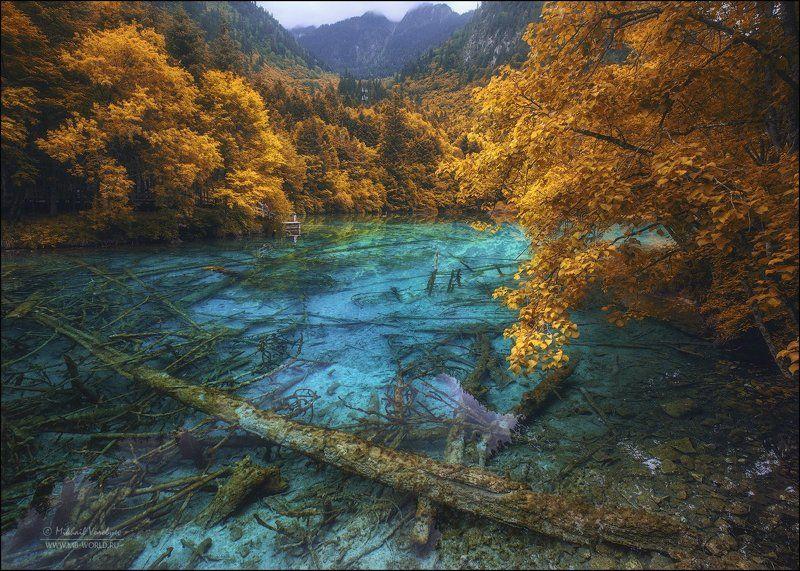 Китай, Цзючжайгоу,природа, парк, озеро,  Заповедная долина Цзючжайгоуphoto preview